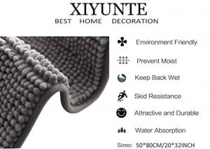 Xiyunte – Tappeto da bagno antiscivolo